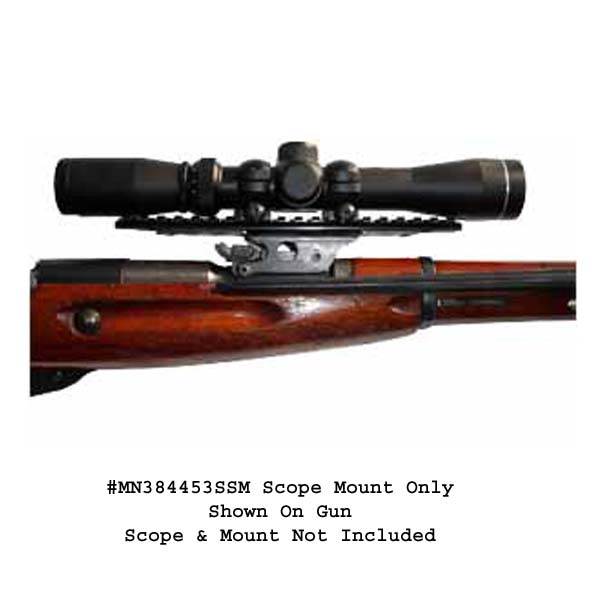 Brass Stacker Mosin Nagant M38 & M44 See Thru Scout Scope Mount