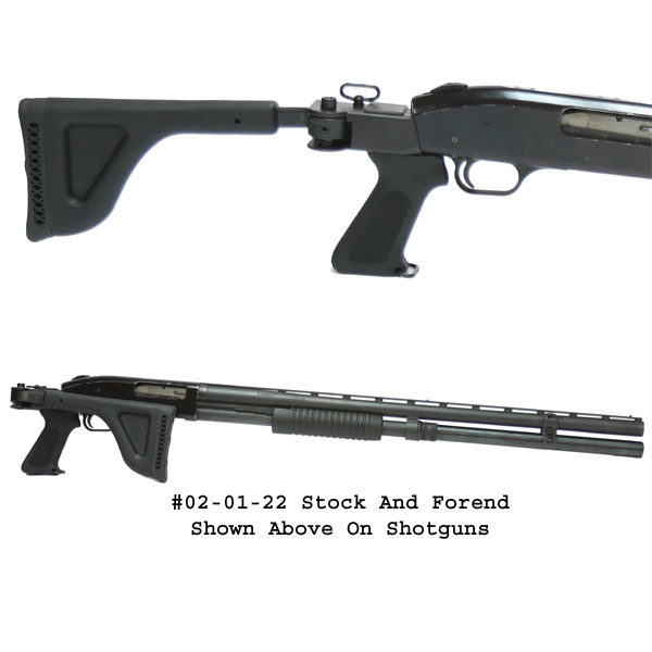 Choate Mossberg  500 / 600 / 590 / 835 12ga Side Folding Stock & Forend