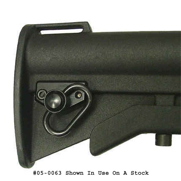 PRI AR-15 Collapsible Butt Stock Swivel Mount