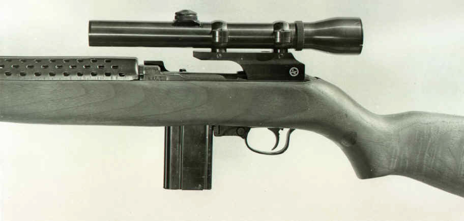 S&K M1 Carbine Scope Mount w/S&K Style 1 Inch Rings