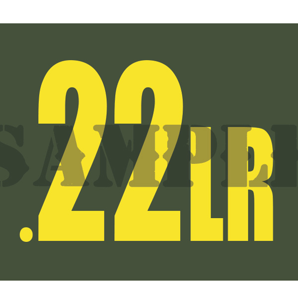 Ammo Can Magnet  .22LR  - Yellow Standard .30Cal