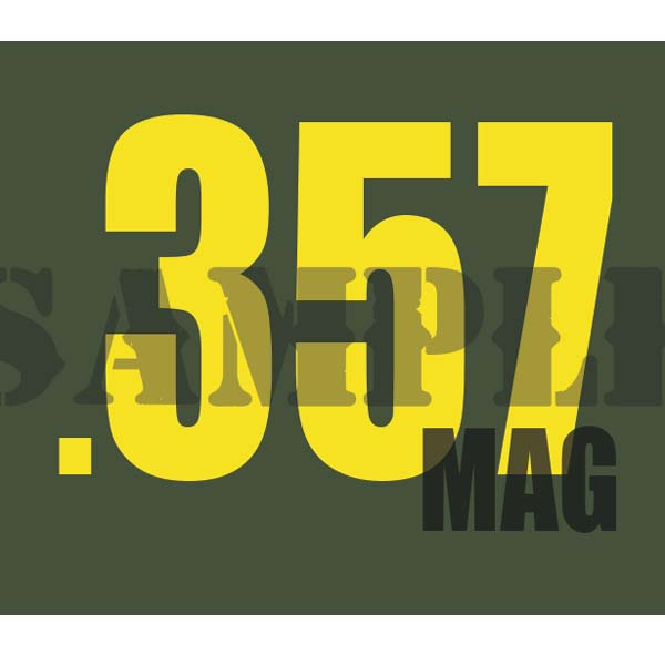 Ammo Can Magnet .357MAG - Yellow Standard .30Cal