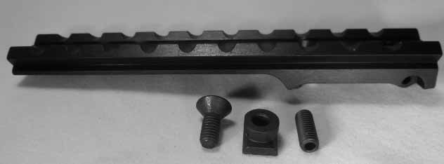 S&K Steyr M95 Carbine Scout Mount (Short Ladder Weaver Style) Also will fit  Budapest & Austrian M34 Stutzen -Accepts Weaver Rings- Rings NOT Included
