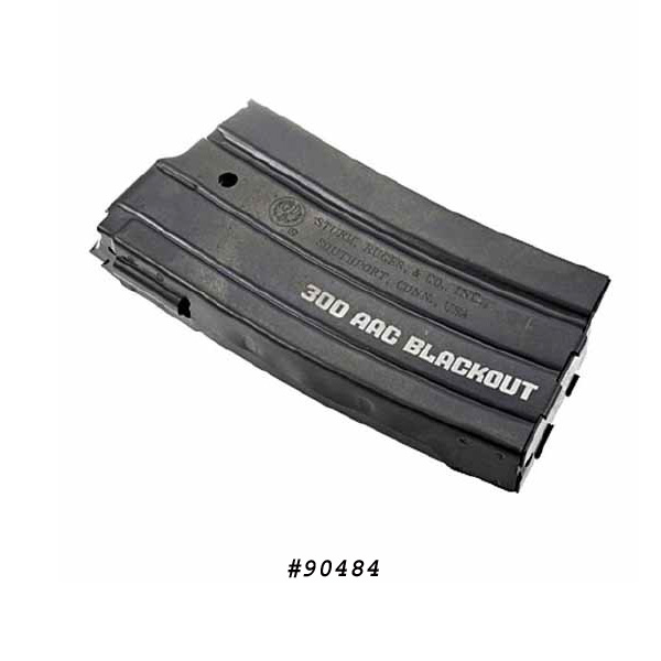 Ruger Mini-14 300 AAC Blackout 20 Round Original Factory Mag -Restricted Item -Check Your Local and State Laws Prior To Ordering