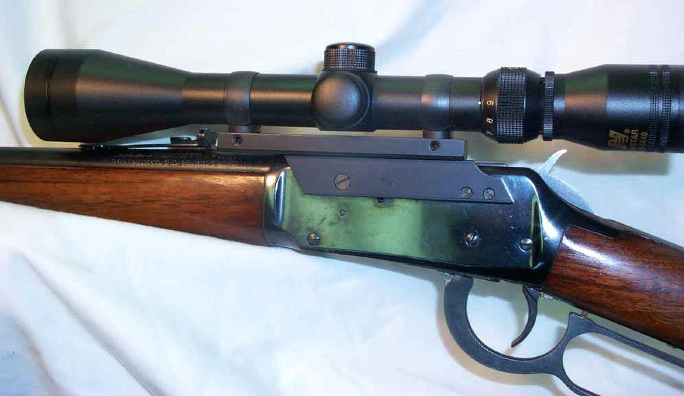 S&K Winchester 94 Scope Mount w/S&K Style 1 Inch Rings