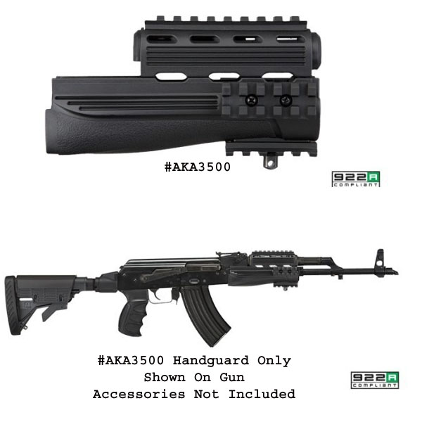 Adv Tech AK-47 Handguards with Picatinny Rails