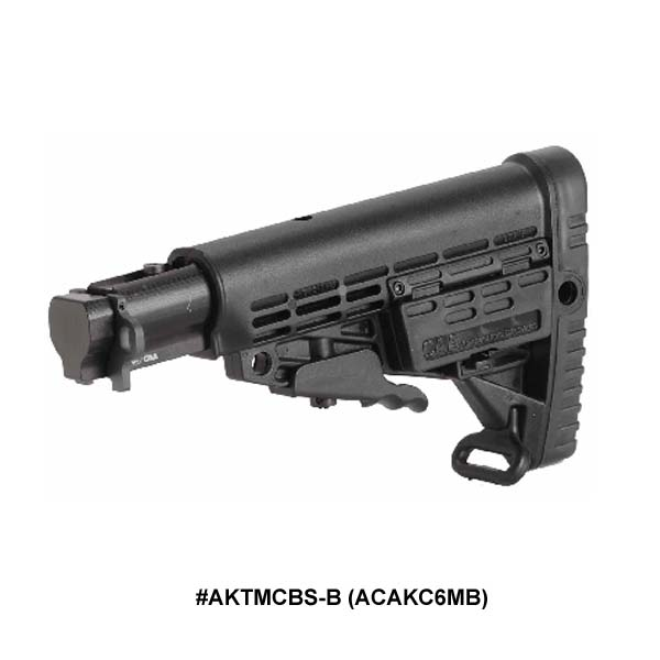 AK-47 6 Position CBS Stock with Aluminum Tube for AK-47 Milled Receiver