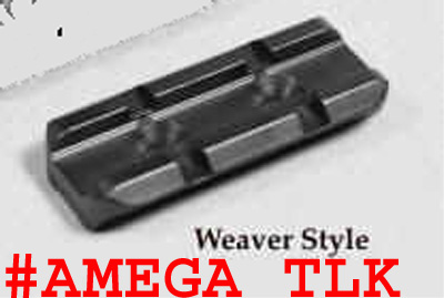 Amega Ranges Standard Weaver Tactical Light Mounting Kit. One Rail Only w/Screws and Wrench