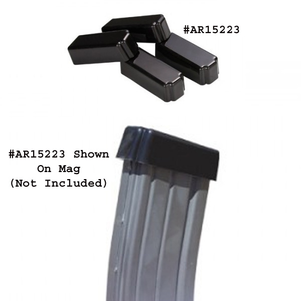 Adv Tech AR-15 Magazine Covers - 4 Pack