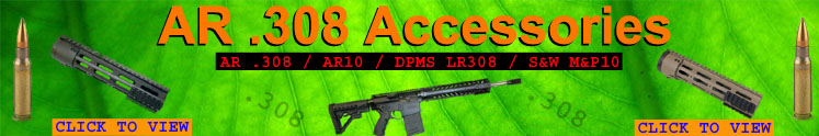 AR .308 handguards, mags, drum, tools, and accessories