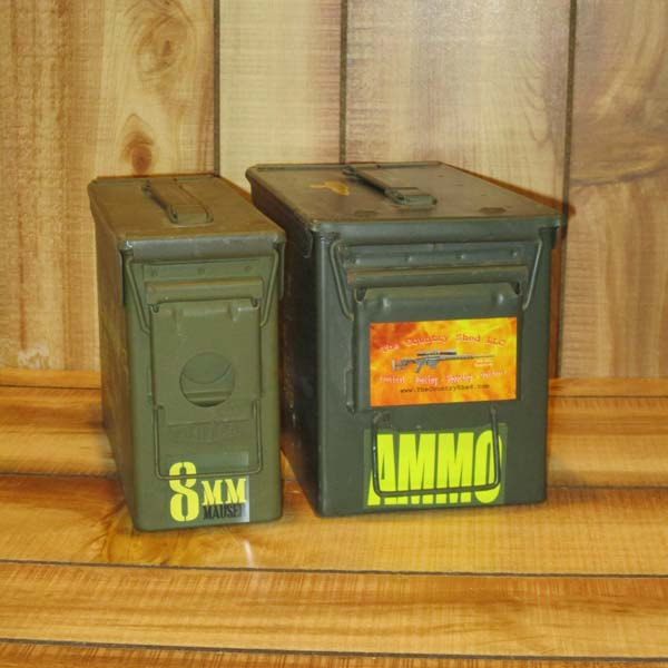 Ammo Can Magnets & Stickers
