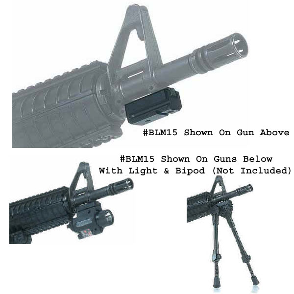 Command Arms AR-15 Bayonet Lug Picatinny Rail Mount