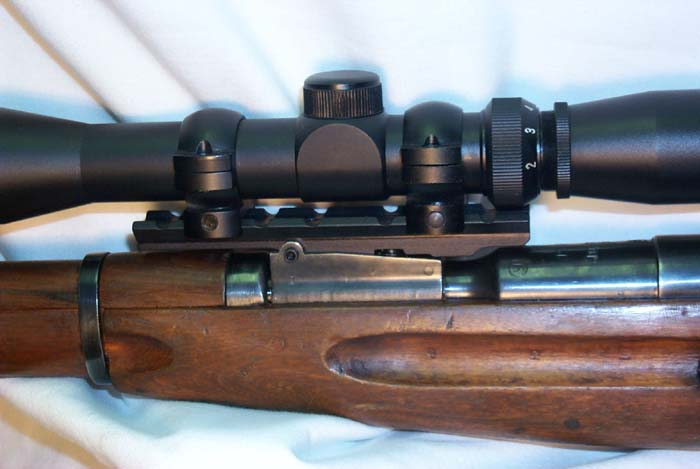 Mosin Nagant Scope Mount - No Drilling Or Tapping