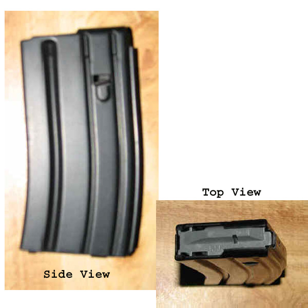 AR-15 .223 20 Round Aluminum Mag C-Products -Restricted Item -Check Your Local and State Laws Prior To Ordering