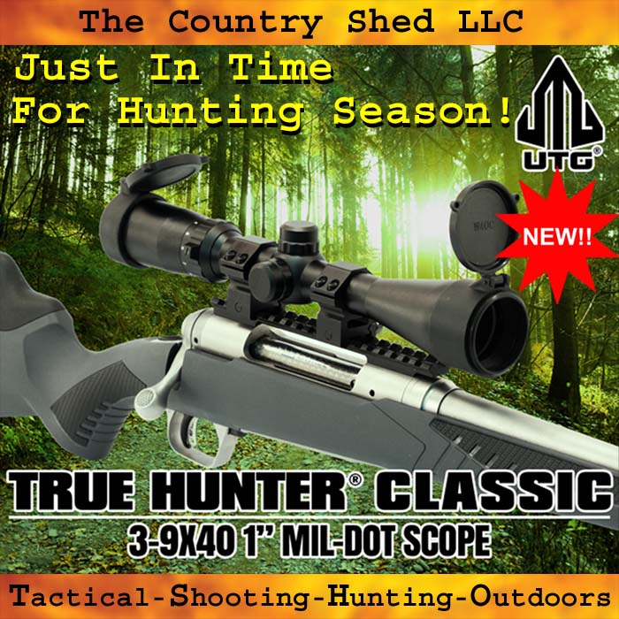 Hunting Rifle Scope 3-9X40