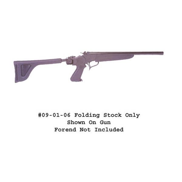 Choate T/C Contender Side Folding Stock – Black