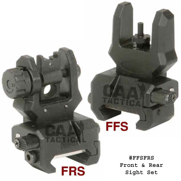 Command Arms Front And Rear Flip Up Sight Combo