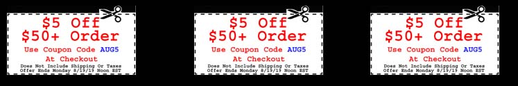 $5 Off $50 Purchase Coupon Code