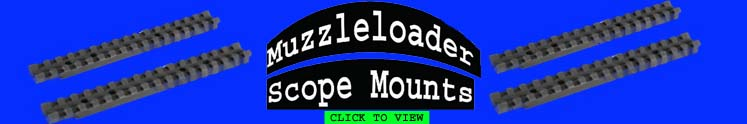 Muzzleloader Scope Mounts