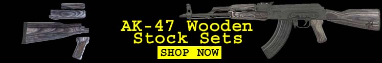 Timbersmith AK-47 Grey Wooden Stock Set