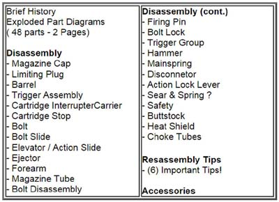 disassembly reassembly guide for mossberg 500 590 and 835 pump rh thecountryshed com