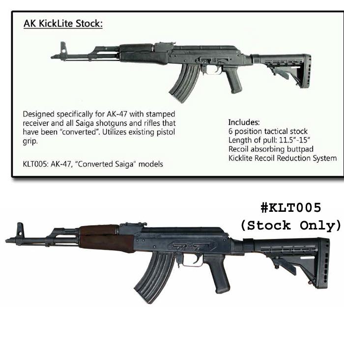 AK-47 KickLite Recoil Reducing Tactical Stock