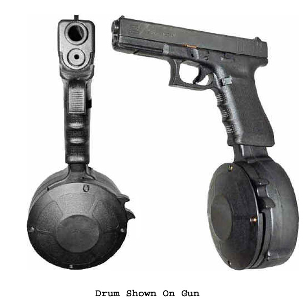 Korean Glock 9mm 50 Round Drum -Restricted Item -Check Your Local and State Laws Prior To Ordering