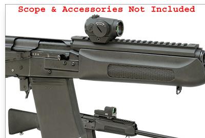 UltiMAK Saiga Shotgun Optic Mount For Adjustable Rib Models 12 & 20 Gauge