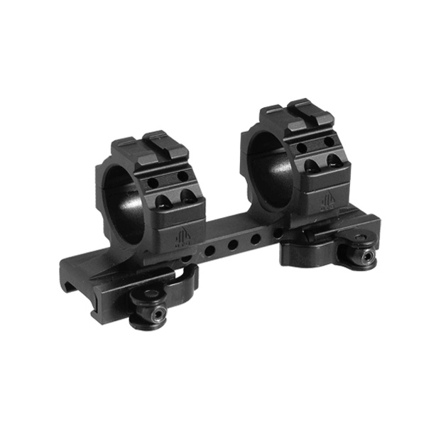 UTG Integral 30mm Medium Quick Disconnect Scope Mount 2 Top Slots 120mm Base