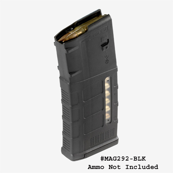 Magpul PMAG® 25 LR/SR GEN M3 Window, 7.62x51 Magazine -Restricted Item -Check Your Local and State Laws Prior To Ordering