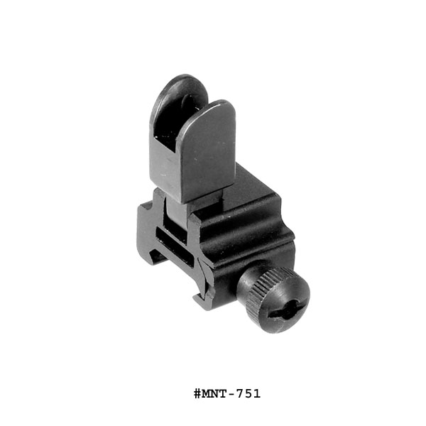 UTG Tactical Flip-up Front Sight For Regular Height Gas Block