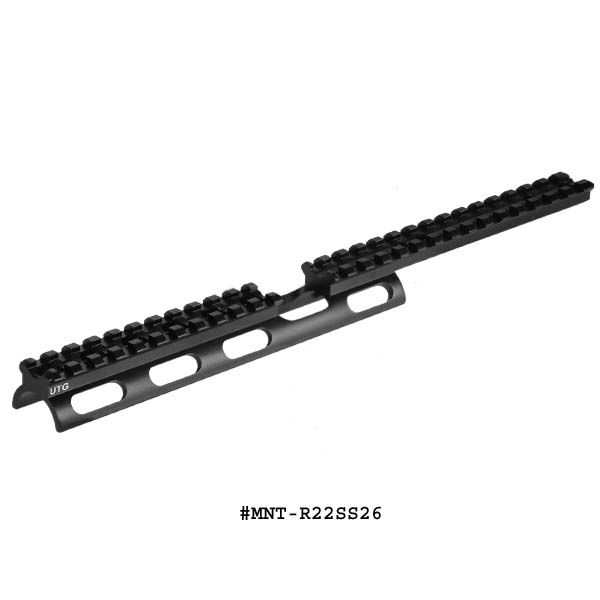 UTG Ruger 10/22 Scout Mount Slim Rail With 26 Slots