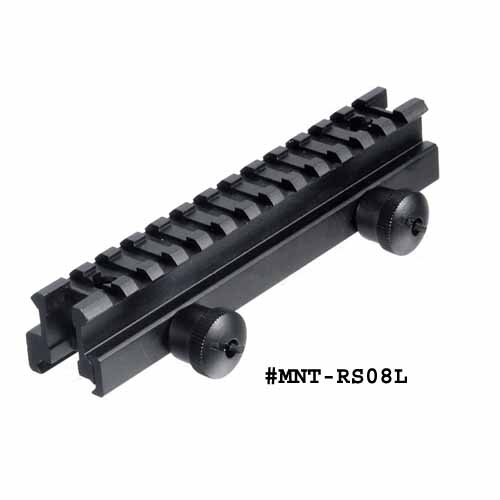 UTG 0.83 Inch High 13-slot Med-profile Full Size Riser Mount
