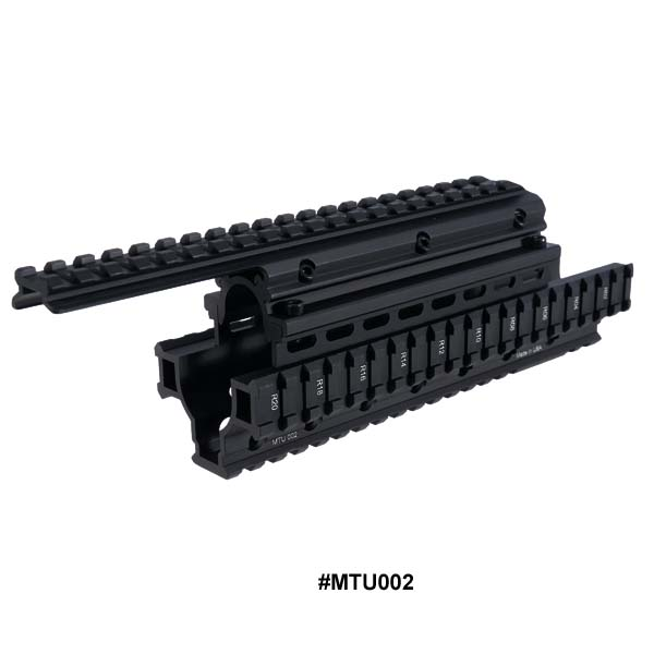 UTG Saiga 12 Ga Shotgun Tactical Quad Rail System