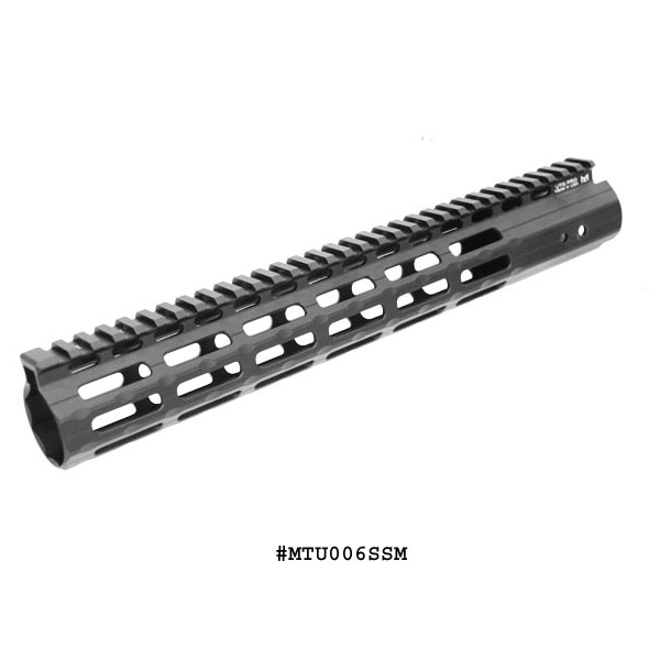 "7/"" Carbine Length Carbon Fiber Octagon M-LOK Free Float Handguard W Rail Section"