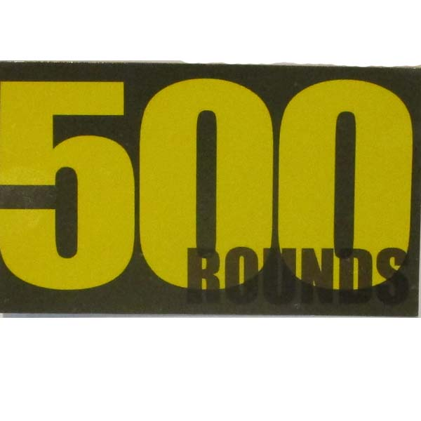 Ammo Can Magnet 500 ROUNDS- Yellow Standard .50Cal