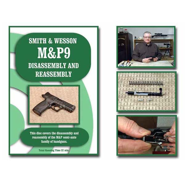 On-Target DVD Smith & Wesson M&P Series Pistols Disassembly & Reassembly