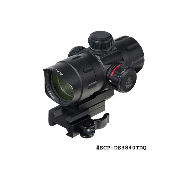 UTG 4.2 Inch ITA Red / Green T-Dot with QD Mount, Riser Adaptor