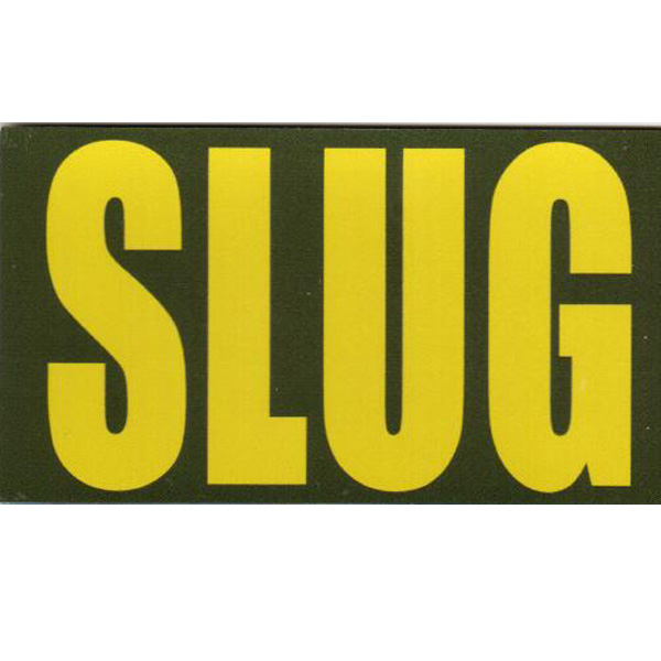 Ammo Can Magnet SLUG - Yellow Standard .50Cal