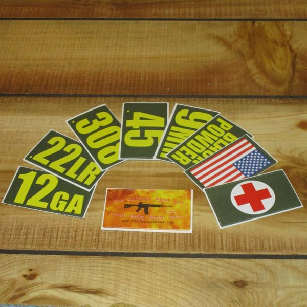 Stickers - .30Cal & .50Cal