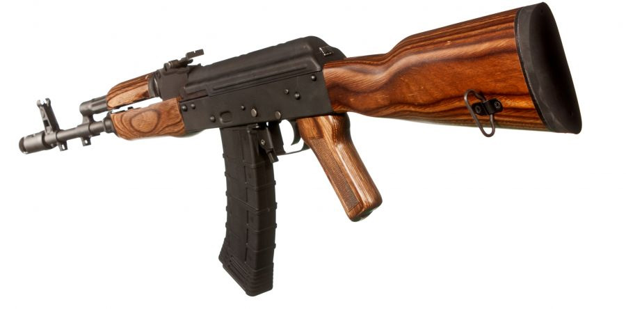 TimberSmith Romanian AK-47 Laminate Wood Stock Set - Brown