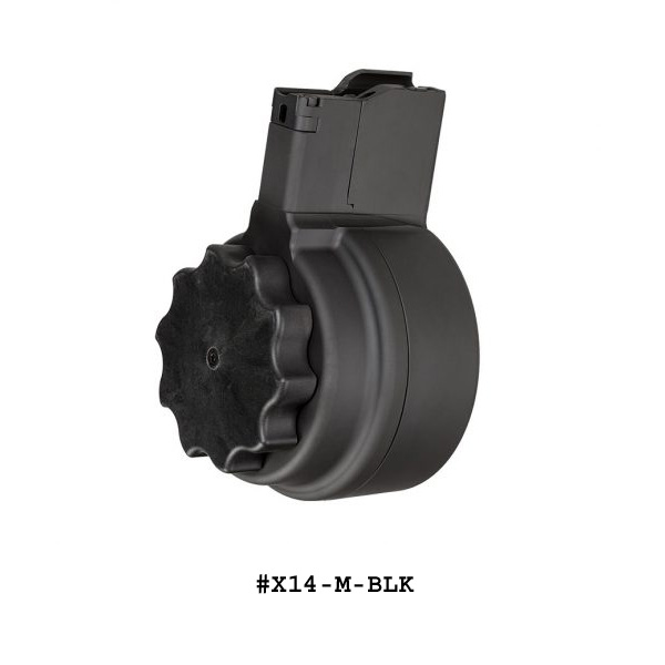 X-14 50 Round Drum Magazine for M1A M14 -Restricted Item -Check Your Local and State Laws Prior To Ordering