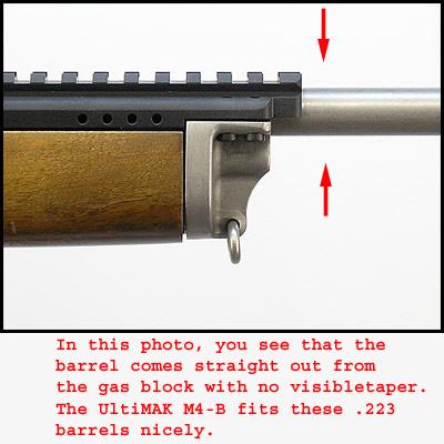 ultimak ruger mini 14 scope mount weaver picatinny standard spec rail