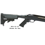 Choate Telescoping / Collapsible Stock for 12ga Mossberg 500, 590A1, 600, 835, and Maverick 88