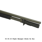 Choate Mossberg 12ga 835 590 Night Manager 7 Shot Extension With Accessory Rail - Matt