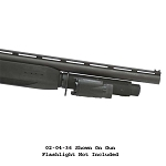 Choate Mossberg 12ga 930 5500 9200 Night Manager 7 Shot Extension With Accessory Rail  - Matt