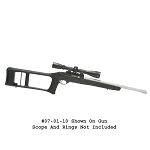Choate Ruger 10/22 Dragunov Stock (Bull Barrel)