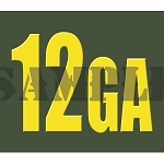Ammo Can Magnet 12GA  - Yellow Standard .30Cal