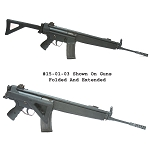 Choate H&K MP5 / 93 / 94 Folding Stock