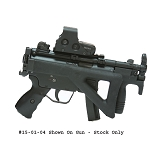 Choate H&K MP5K, SP5K, SP89 and Zenith MKE Z-5P and MKE Z-5K Folding Stock